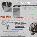 BIJOUTERIE-JOAILLERIE : Achat Platine